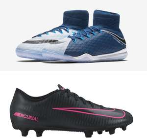 Various Kids Nike Football Boots and Shoes £7.50 Nike Clearance Castleford examples in post