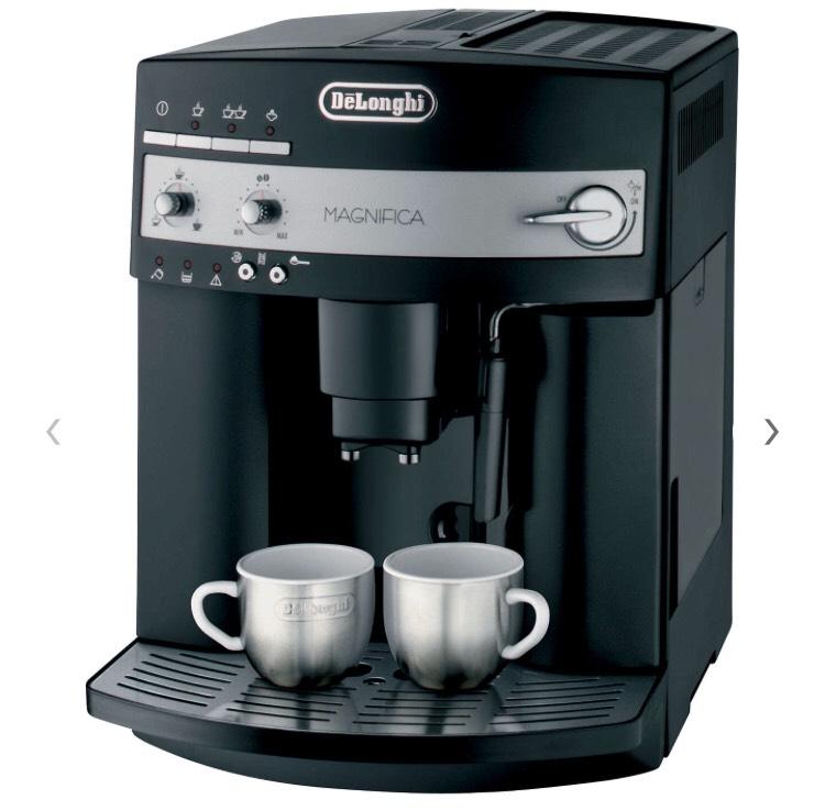 De'Longhi ESAM3000.B Magnifica Bean-to-Cup Coffee Machine, Black at John Lewis for £269.99