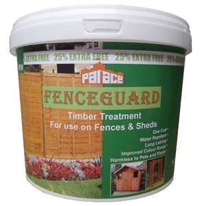 Palace Fenceguard 5ltr, Various Colours £2 @ Poundland