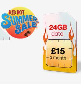 24GB 4G Data (Data Rollover) - 2500 Minutes - Unlimited Texts - £15 Month (£180) -12 Months Sim @ Virgin Mobile