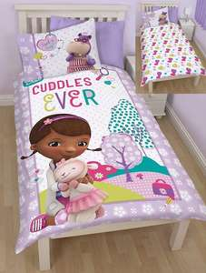 Doc Mucstuffins and many other quilt sets £3.50 in-store  £6.45 delivered from Shaws Direct