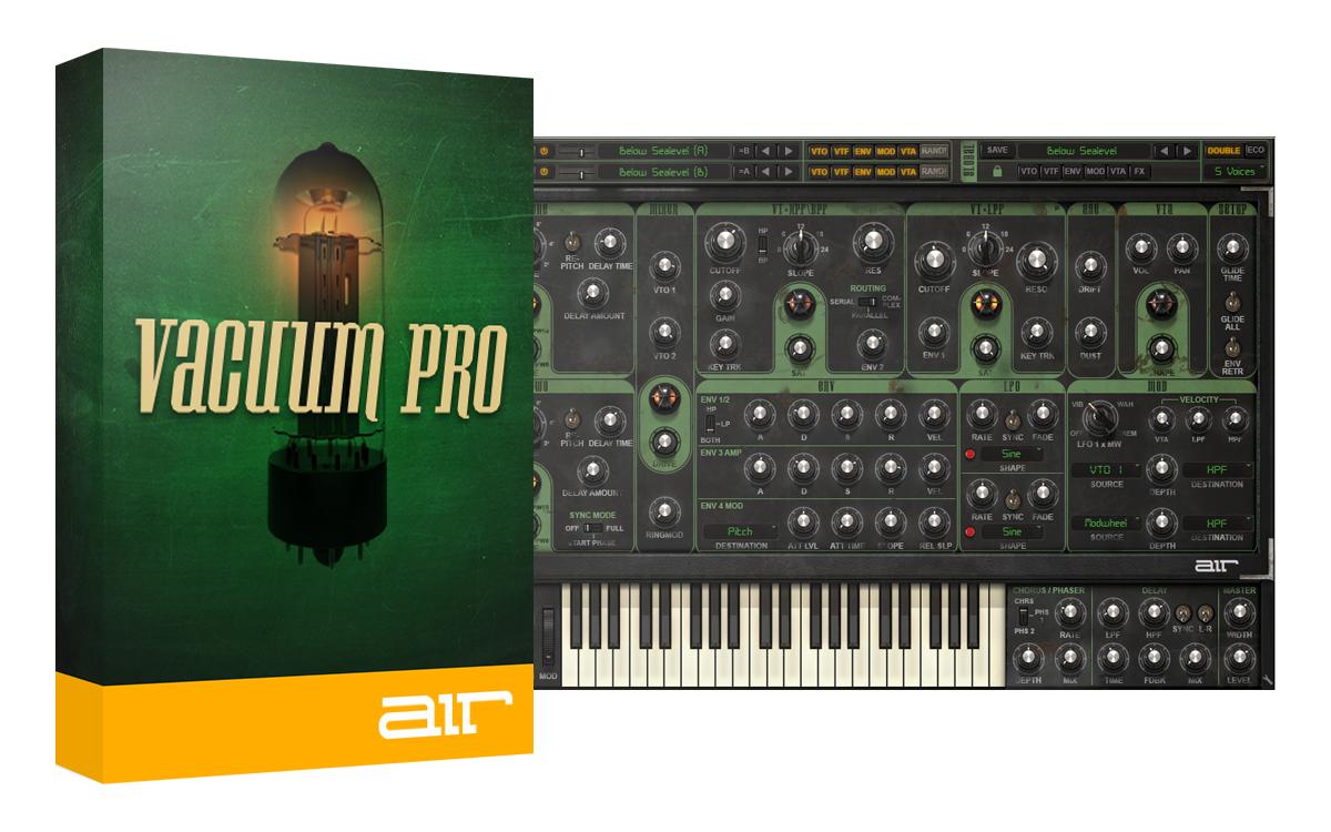 Vacuum Pro for £1 polyphonic analog synthesizer