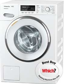 Miele WKF121 A+++-30% 8kg 1600 Spin Washing Machine in White-chrome Door - £689.99 Delivered @ Co-Op Electrical