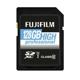 SD Card: Fujifilm 128GB Class 10 SDXC UHS-I 60MBs  - £19.99 @ Fujifilm (+£1.99 P&P)