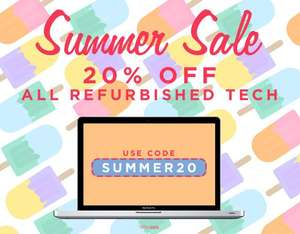 20% Off Refurbished Tech @ MusicMagpie Store