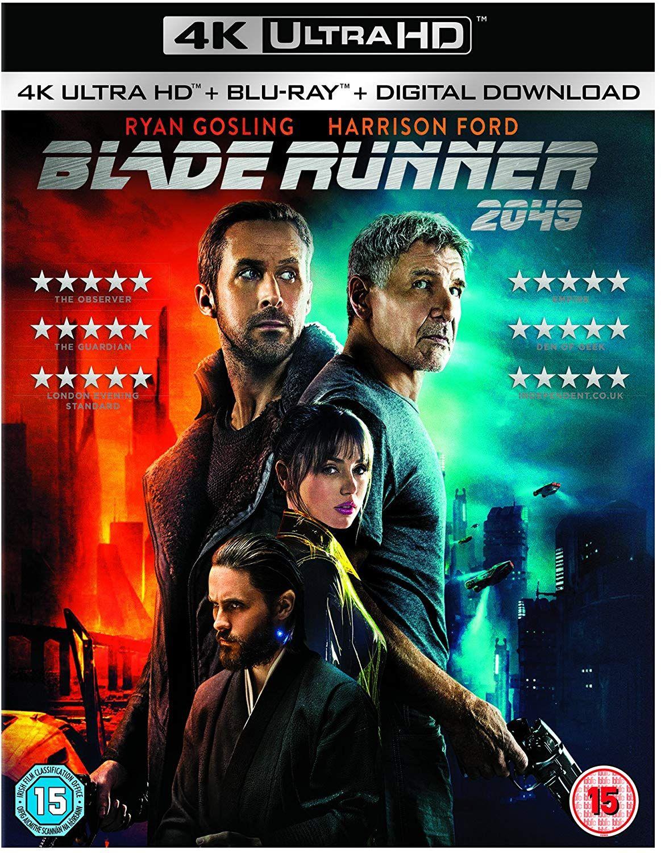 Blade Runner 2049 4K UHD Blu Ray - £16.10 w/Prime / £19.09 non-Prime Amazon