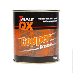 TRIPLE QX Copper Grease 500G Antisieze. Free delivery. PayPal. Possible 3% cashback at Carparts for less £5.70