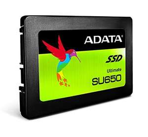 "ADATA 960GB Ultimate SU650 SSD 2.5"" SATA3 7mm only £159.55 @ More Computers inc. free delivery"
