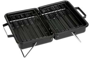 Halfords Briefcase BBQ Grill New - now £4.25 with code