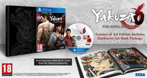 Yakuza 6: The Song of Life Launch Edition (PS4) £29.86 Delivered @ Shopto
