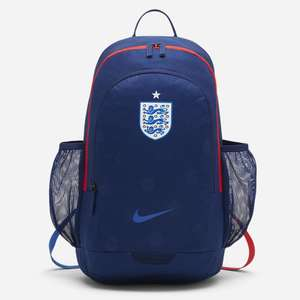 Nike England Stadium Football Backpack less than half price from Nike online store £15.18 (use code 20EXTRA)