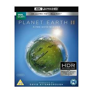Planet Earth II 4K UHD Blu-ray £18.99 @ 365 Games (Double Player points worth £1.90 for those that collect)