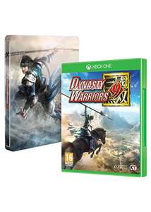 Dynasty Warriors 9 & Steelbook (Xbox One) £19.99 Delivered @ Base