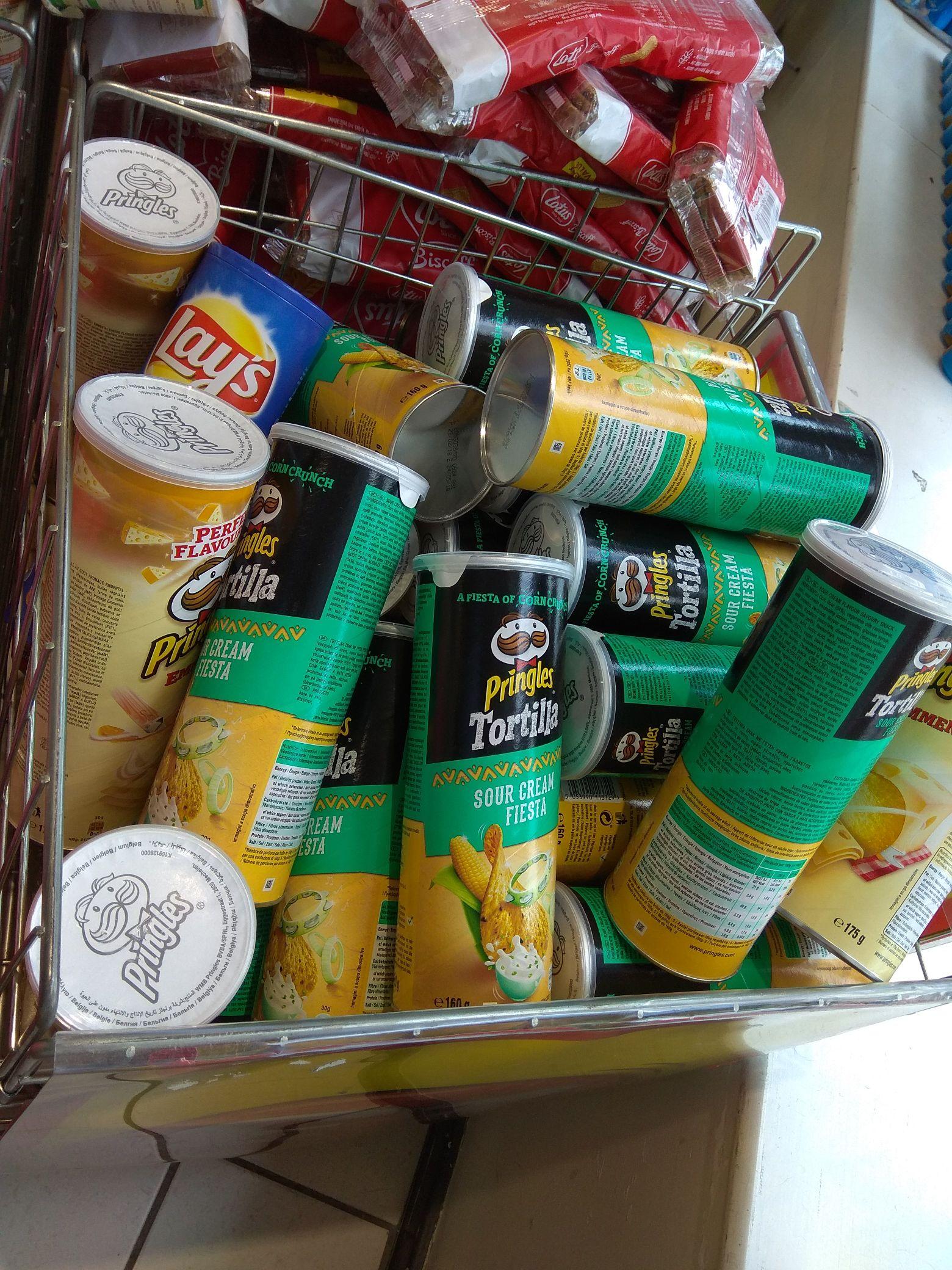 Pringles 175g - £1 @ Poundland