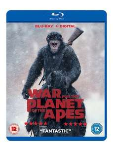 War for the Planet of the Apes (Blu-ray + Digital) £6.29 @ musicMagpie