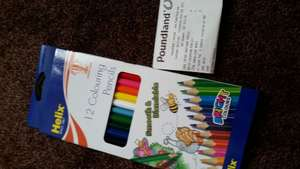 HELIX 13 pack colouring pencils - £1 instore @ Poundland
