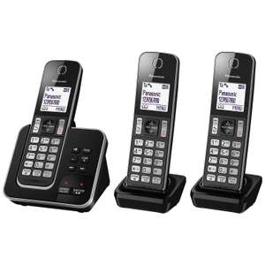 Panasonic KX-TGD323EB Trio Cordless Home Phone with Nuisance Call Blocker at John Lewis for £49.99 - Free c&c