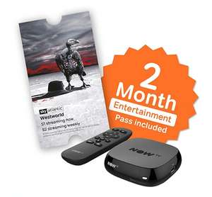 NOW TV Box with 2 Month Entertainment Pass and Sky Store Voucher £9.89 prime / £14.38 non prime @ Sold by beauty stores and Fulfilled by Amazon