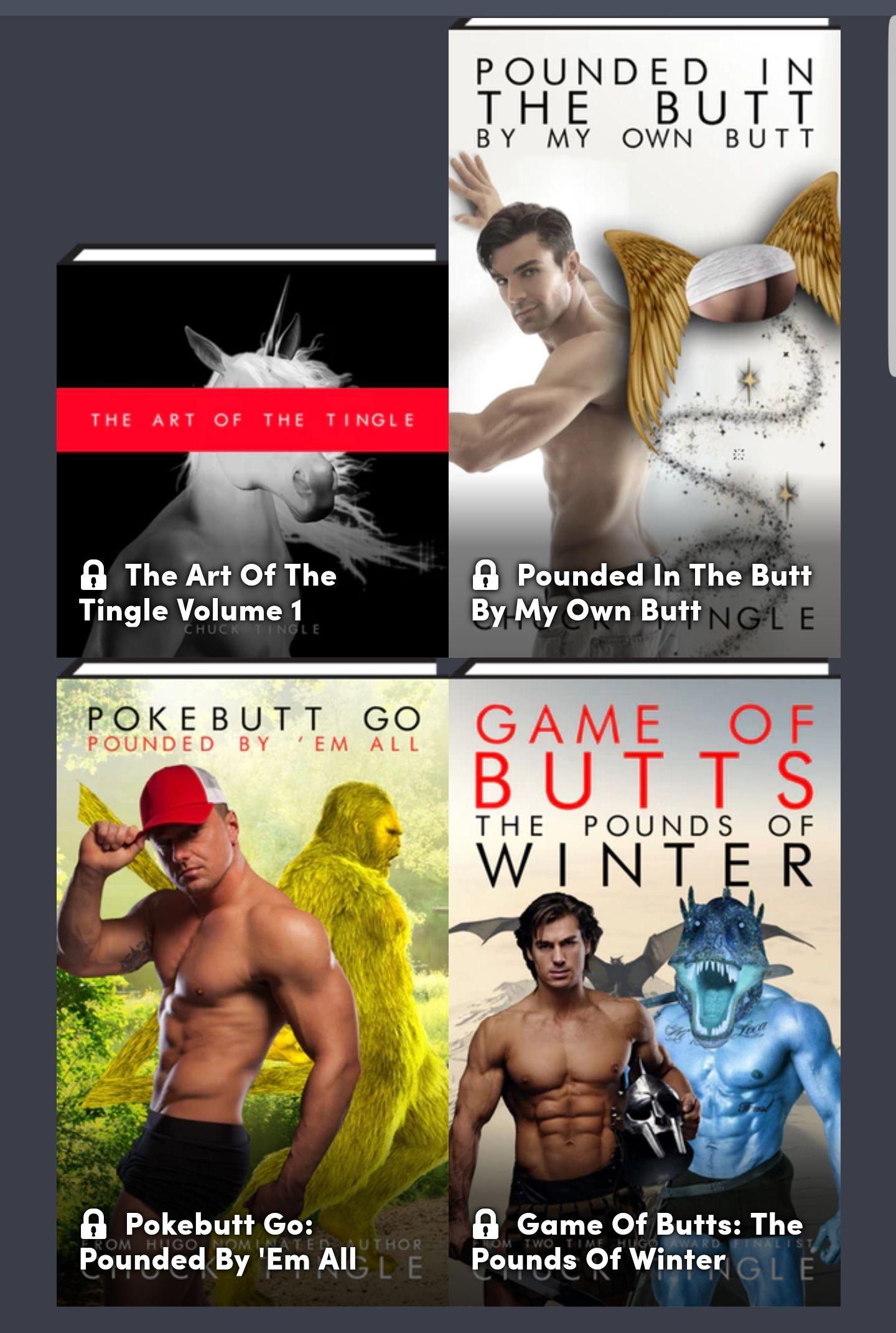 Humble Bundle: Chuck Tingle ebooks