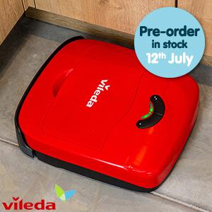 Vileda VR 101 Robot (RRP £149.99) at HomeBargains for £29.99