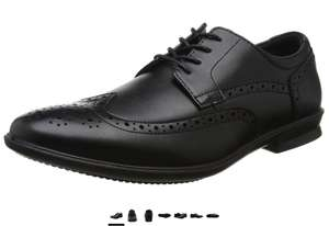 Amazon Hush Puppies Men's Cale Wing Tip Brogues Black - Size 8 = £25.43