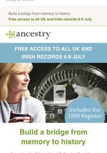 Free ancestry access