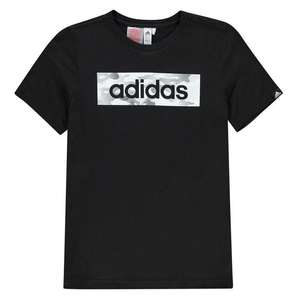 Adidas Camo Linea T Shirt Kids (Sportsdirect) - £10.50 / £15.49 delivered