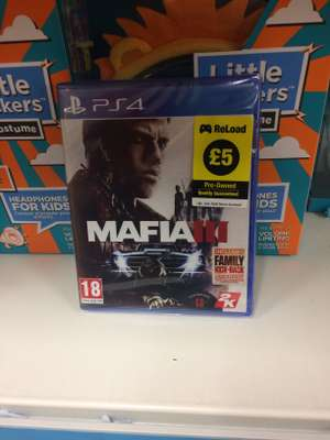 Mafia 3 ps4 pre-owned - £5 instore @ Poundland Newcastle