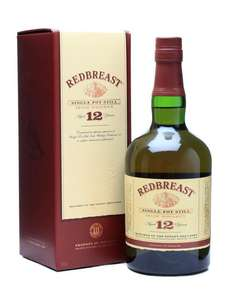 Redbreast 12 year old Irish Whiskey £31 @ Sainsbury's