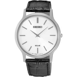 Seiko Gents Solar Leather Strap Watch SUP873P1 £92.63 (RRP £149) with code Rubicon Watches