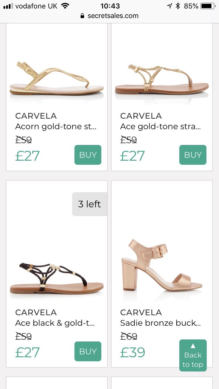 Big brands at reduced prices @ Secret Sales