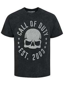Call of Duty Black Graphic T-Shirt £5 @ Asda