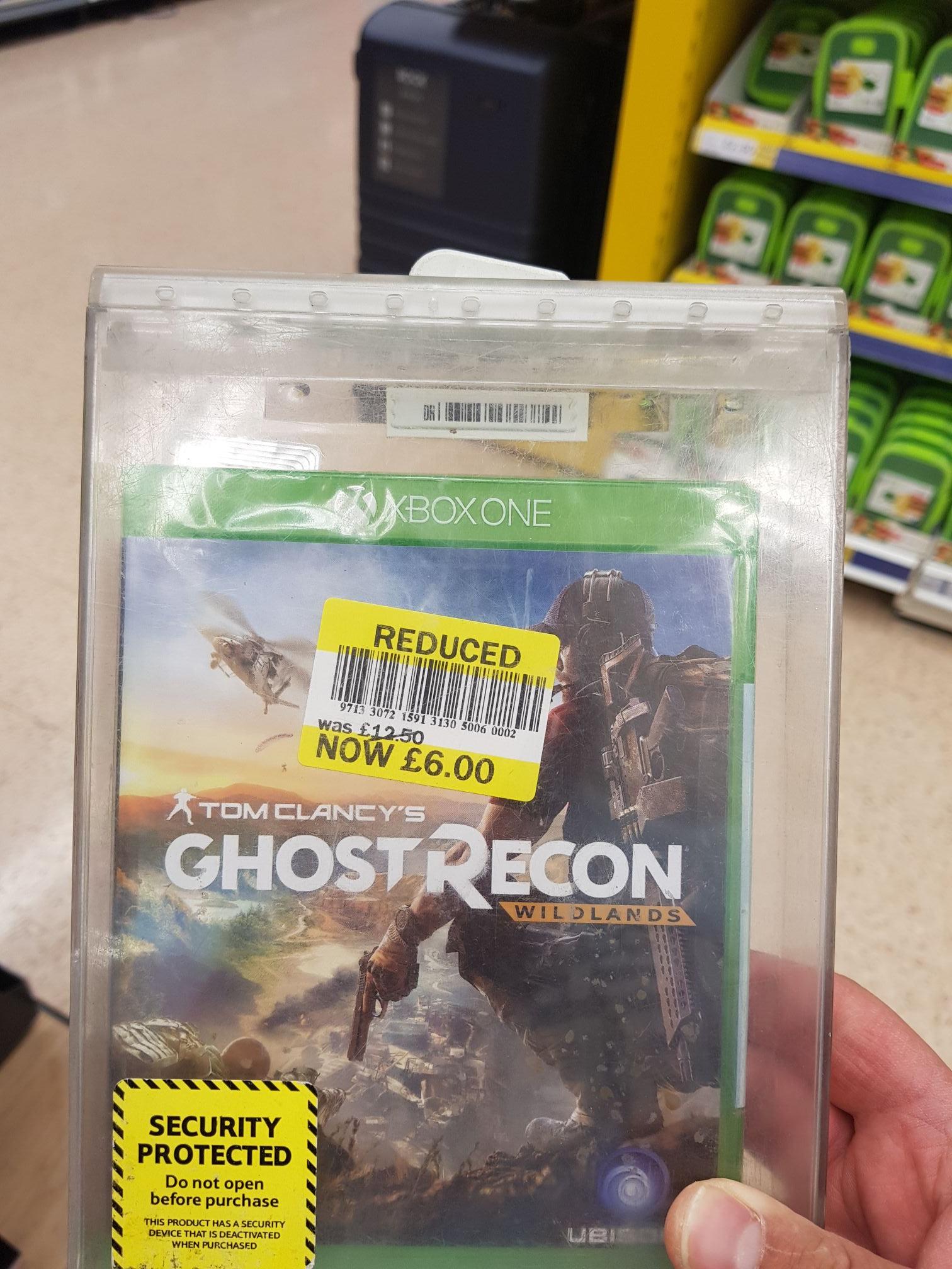 Ghost recon wildlands £6 instore tesco
