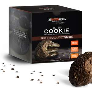 36 Protein cookies and 12 Protein brownies for £34.98 delivered @ The Protein Works