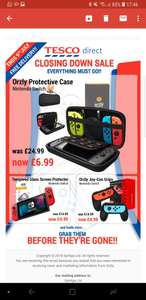 Tescos closing down sale: Orzly Nintendo switch case for 6.99 and loads of other reduced Nintendo accessories