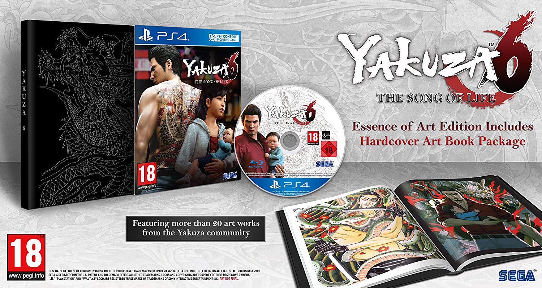 Yakuza 6 essence of art edition ps4 £28.49 @ Amazon (Prime Exclusive)