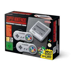 NINTENDO CLASSIC MINI: SUPER NINTENDO ENTERTAINMENT SYSTEM @ The Game Collection £59.46