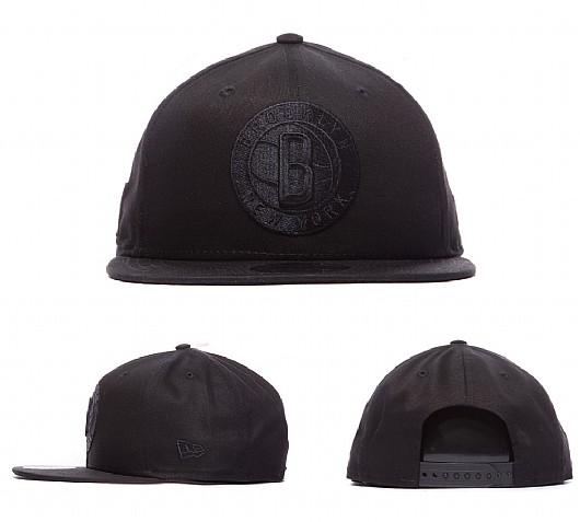 New Era NBA 950 Brooklyn Nets Cap | Black / Black @ foot asylum £4.99 was £24.99 free C&C