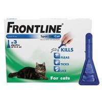 Frontline Spot On for Cats (3 Pack) at Vet UK for £9.38 delivered