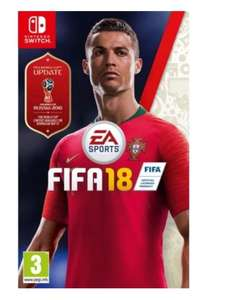 FIFA 18 ( XBOX and switch) £16.96 @ game collection