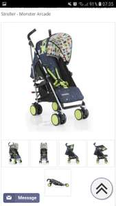 Cosatto Supa Go Stroller in 'monster arcade' or 'hoppit' at Pramworld for £89