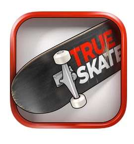 'True Skate' the ultimate skateboarding sim game for Apple iOS, now FREE!
