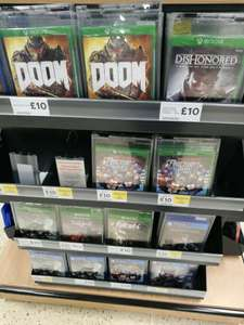 New games for £10 at tesco ricoh arena coventry