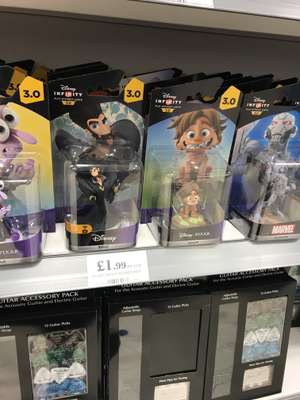 Disney Infinity 3.0 Figures at Home Bargains Edmonton Green at Home Bargains for £1.99