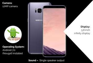Samsung Galaxy S9 64GB - Vodafone - 20gb Data, £30/m, £25 Upfront. 24Mth Contract @mobiles.co.uk £745