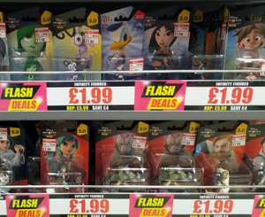 Disney Infinity figures £1.99 in This is It (Exeter)