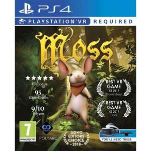 MOSS for the PSVR £18.66 @ The Game Collection