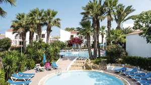2 adults 2 kids 3T rated with kids club & 6 pools to Cala'n Forcat Menorca 7 nights s/c inc luggage and transfers £711 / £177.75pp from Manchester 13th July @ TUI