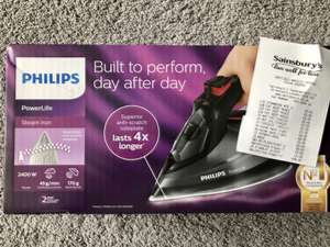Philips GC2998 steam iron £46.66 @ Sainsbury's