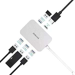 USB C Hub, dodocool Type C to HDMI 4K Adapter with 4 USB 3.0 Ports for MacBook / MacBook Pro / Google Chromebook Pixel and More in Amazon lighting deals £8.04 (Prime) £12.53 (Non Prime) @  Sold by HOME-Victory and Fulfilled by Amazon